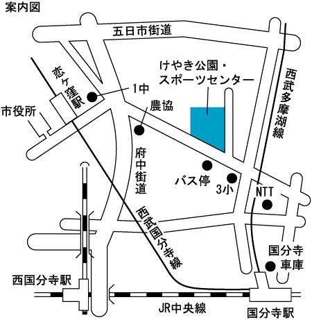 災害ボランティアセンター 地図